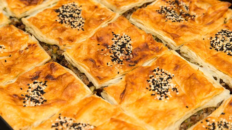 Börek - ciasto yufka nadziewane serem