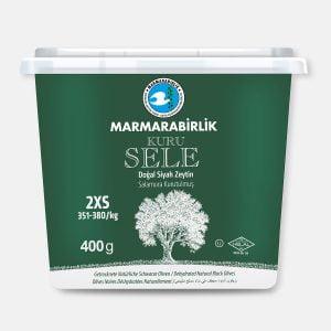 Suszone naturalne oliwki czarne z pestką bez zalewy 400 g