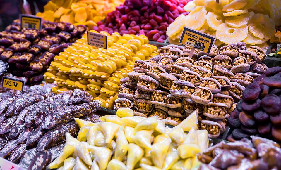 Turecki bazar Harika